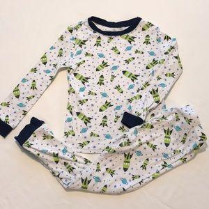 Long Sleeve Space Pajamas